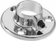 Фланець для труби  DC d16 мм сталевий хром