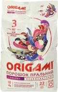 Пральний порошок для машинного прання Origami для кольорової білизни 3 кг