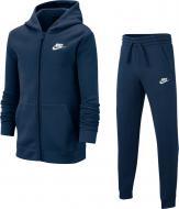 Спортивний костюм Nike B NSW TRK SUIT CORE BF BV3634-410 р. M темно-синій