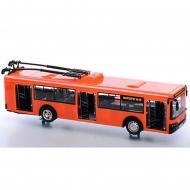 Игрушечный троллейбус инерционный Оранжевый (I9690AB)