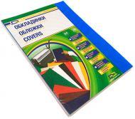 Обкладинка для брошурування D&A art ПВХ А4 прозорий/синій 1220102020200 180 мкм 100 шт.