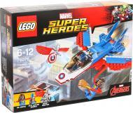 Конструктор LEGO Super Heroes Marvel Повітряна гонитва Капітана Америка 76076