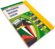 Обкладинка для брошурування D&A art ПВХ А4 прозорий/жовтий 1220102020500 180 мкм 100 шт.