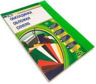 Обкладинка для брошурування D&A art ПВХ А4 прозорий/зелений 1220102020400 180 мкм 100 шт.