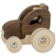 Машинка деревянная goki Трактор 55911G