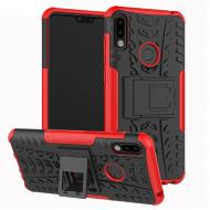 Чехол Armor Case для Asus Zenfone Max Pro M2 ZB631KL Красный (hub_ZXZU14576)