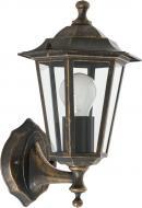 Світильник садовий Expert Light Atlanta 60 Вт IP44 антична латунь ELWF-36001S-W