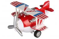 Самолет металический инерционный SAME TOY Aircraft красный SY8013AUt-3