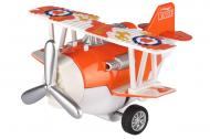 Самолет металический инерционный SAME TOY Aircraft оранжевый SY8013AUt-1