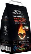 Брикеты угольные кокосовые для барбекю 3 кг 38001
