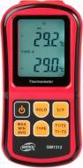 Термометр BENETECH GM1312 цифровой двухканальный с двумя термопарами К-типа