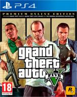 Гра Sony Grand Theft Auto V Premium Online Edition (PS4, російські субтитри)