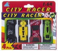 Набор мини GW Citi Racer 4 машинки  (6489118)