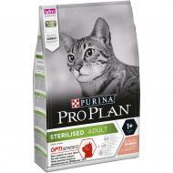 Корм Pro Plan сухий для стерилізованих котів Aftercare, лосось, 3 кг