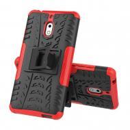 Чехол Armor Case для Nokia 2.1 Красный (hub_jXWT58594)