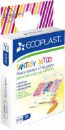 Набір пластирів ECOPLAST дитячих Fantasy Tatoo 20х60 мм 10 шт.