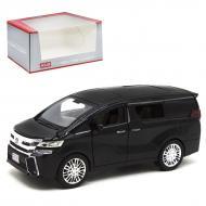 Машинка Toyota Alphard черный Kinsmart (М923Р-1)