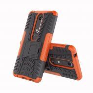Чехол Armor Case для Nokia 6 2018 / Nokia 6.1 Оранжевый (hub_mkWh25423)