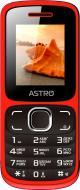 Мобільний телефон Astro A177 red/black