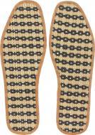 Устілки для взуття соломка Роллі 36-37 коричневий