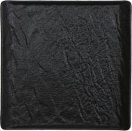 Блюдо квадратне Lavastone Black Surf 17,5x17,5 см