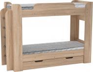 Ліжко Компаніт Твікс 70х190 см дуб сонома