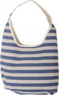 Сумка пляжна Stripes синя