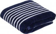 Полотенце пляжное Stripe 86x160 см темно-синий Mundotextil