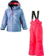 Комплект горнолыжный McKinley Timber kds + Ray kds 267564-909641 р.116 разноцветный
