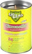 Свеча от комаров Zig Zag Citronella Indoor Geranio 200 мл 100 г