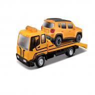Машинка Bburago Эвакуатор c автомоделью Jeep Renegade (18-31417)