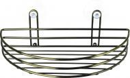 Полиця Lemax на двох присосках EBA-10600 Ba для ванної кімнати 260х133х85 мм
