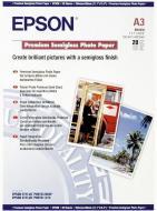 Папір Epson  А3 Premium Semigloss Photo Paper 20 арк. C13S041334 C13S041334