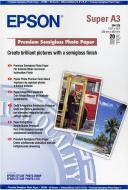 Папір Epson  Premium Semigloss Photo Paper C13S041328