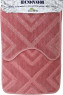 Набір килимків Dariana Econom JD 668 рожевий