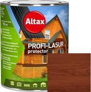 Лазурь Altax PROFI-LASUR protector Орех мат 0,75 л