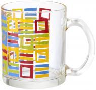 Чашка Цветные клетки 340 мл Danore