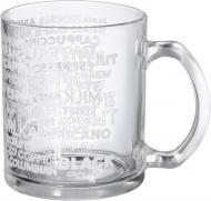 Чашка Роспись кофе белый 340 мл Danore