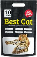 Наповнювач для котячого туалету Best Cat White 10 л