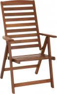Кресло раскладное Indigo с тихоокеанской черешни меранти LY081 коричневый