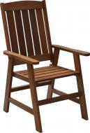 Крісло Indigo з деревини меранті LY213 коричневий