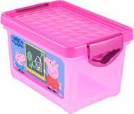 Скриня для зберігання Little Angel Я росту Свинка Пеппа рожевий LA0052РРРЗ