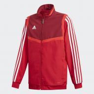 Джемпер Adidas TIRO19 PRE JKTY D95931 р. 152 червоний
