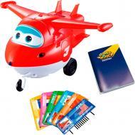 Игрушка интерактивная Auldey Super Wings Jett с карточками YW710410