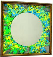 Зеркало SEAPS Australian Circle 68х68х3 см №6180