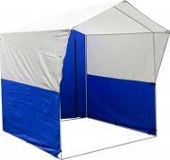 Палатка торговая Indigo 2x2 м сине-белая