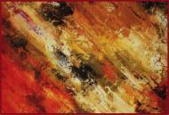Коврик Cleopatra for Trading and International Marketing Print Digital красный мрамор 100x150 см