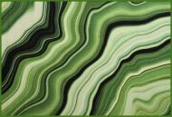 Коврик Cleopatra for Trading and International Marketing Print Digital малаxитовый мрамор 100x150 см