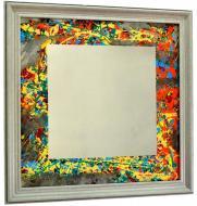 Зеркало дизайнерское SEAPS Field Square Mirranizm 68х68х3 см №6176
