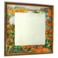 Зеркало авторское SEAPS Red Horizon Mirranizm 68х68х3 см №6168